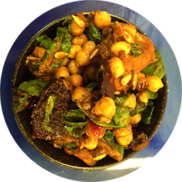 Moroccan Chickpea Salad The Happy Frog