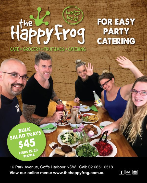 Easy Party Catering The Happy Frog